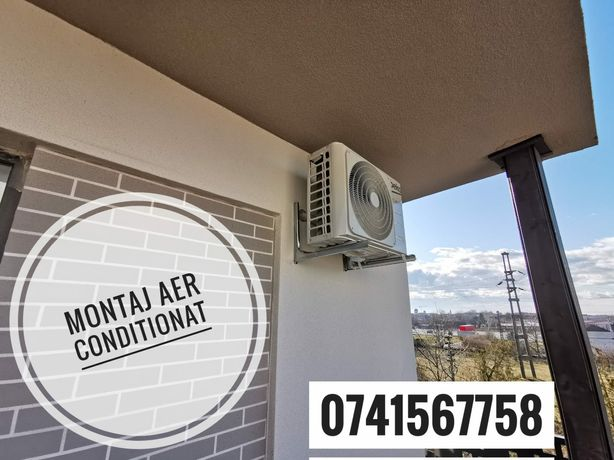 Instalare , Montaj Profesional de aer conditionat Clima 3ANI GARANTIE