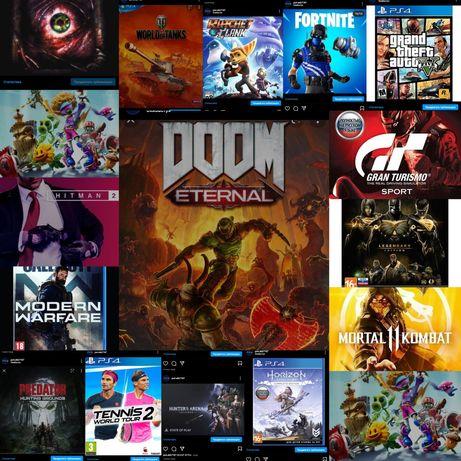 Прокат SONY PS4 (15игр)