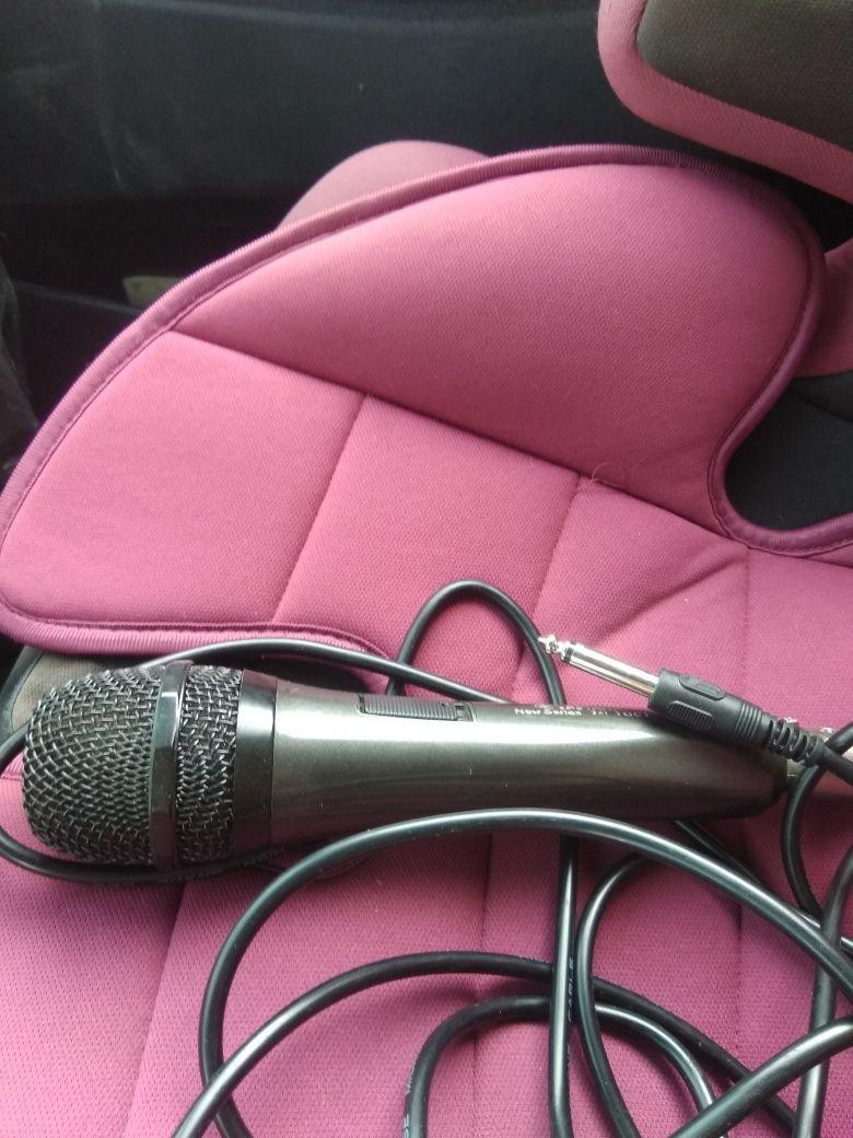 Микрофон ямаха с проводом