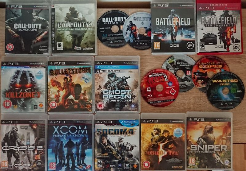 < PS3 Military > Call of Duty / Battlefield / Clancy за PlayStation 3 гр. Казанлък - image 1