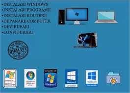 Service IT Instalari Windows Reparatii calculatoare Routere wifi