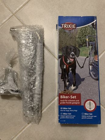 Set bicicleta plimbare caine, Trixie biker-set