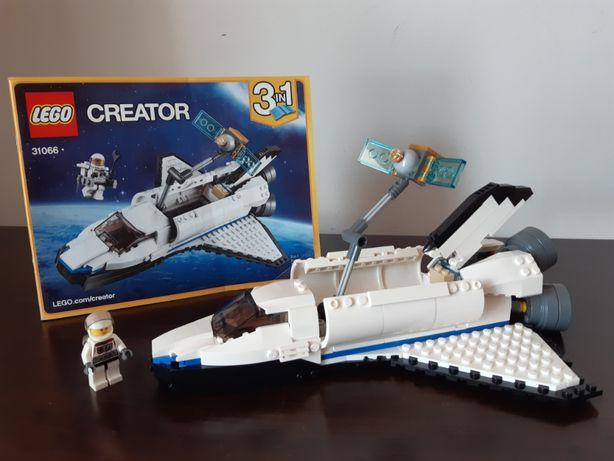 LEGO Creator 3 in 1 - Naveta spațială de explorare 31066