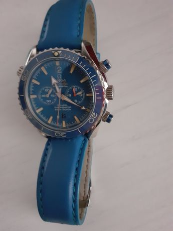Omega Seamaster Planet Ocean Blue 600 M Co-axial Master Chronometer