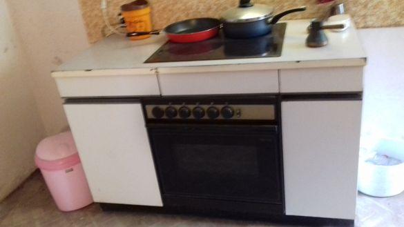 Работеща готварска печка и фурна за вграждане