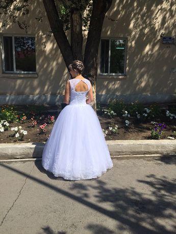 Продаю свадебное платье счастливое