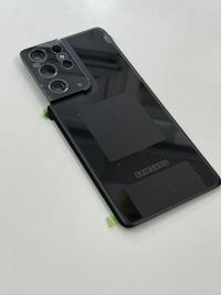 Capac Samsung S21 Ultra I Phantom Black I Original Service Pack