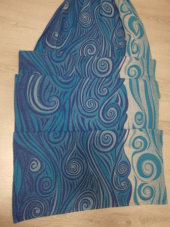 Lenny Lamb Blue Wave ring sling, Grad B