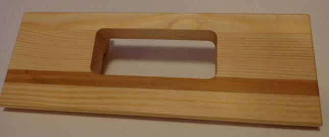Sablon pentru frezare balamale plate tip pafta de lungime L=100 mm