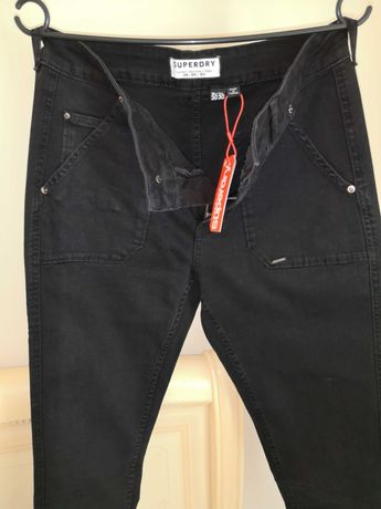 Pantaloni Superdry (30/30) NOI