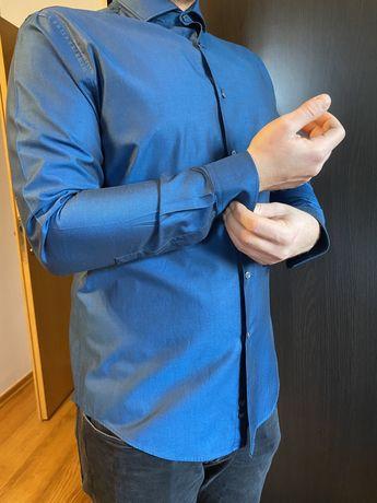 Camasa albastra Zara Man XL