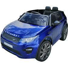 Masinuta electrica Kinderauto Land Rover Discovery DELUXE Cu MP4 #Blue