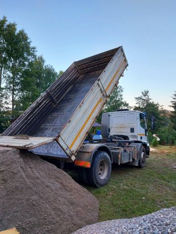 Transport nisip,piatra,zgura/Inchirieri autocamioane+container moloz