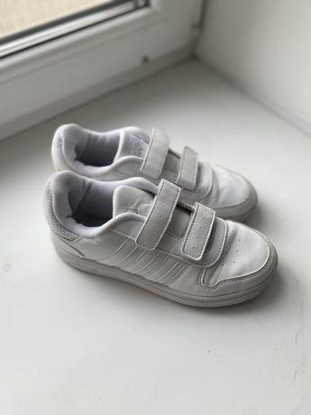 Кожаные кроссовки Адидас кеды