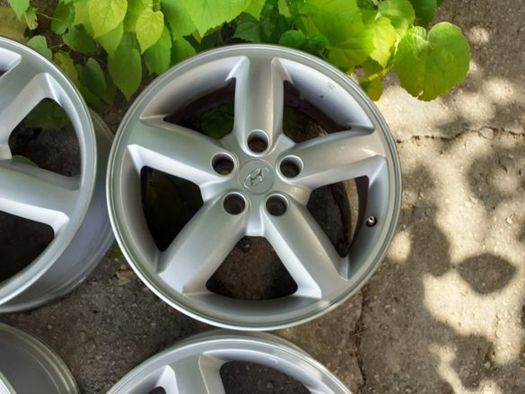 "Оригинални джанти Hyundai / Хюндай 17"" 5х114.3"