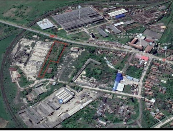 Teren intravilan 5100 mp - zonă industrială Simeria