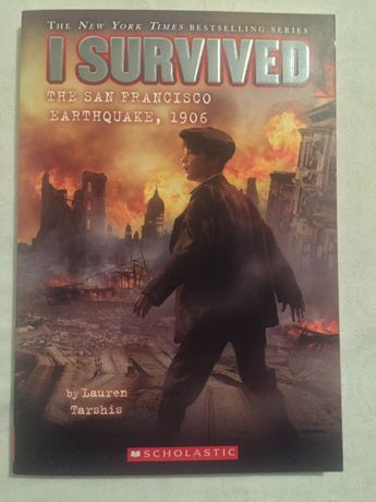 Carte I Survived The San Francisco earthquake,1906 by Lauren Tarshis