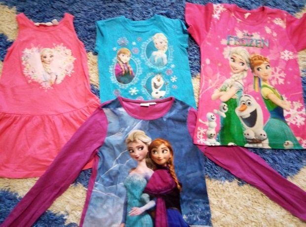 Bluze si rochite  ca noi cu Frozen 3 buc 100 lei