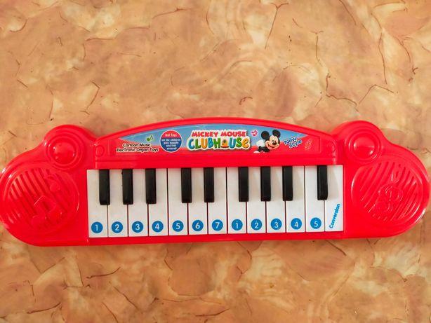 пианино детское  на батарейках