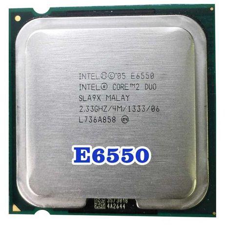Процессор двухядерный Core 2 duo E6550, 2,33 Ггц