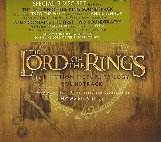 The Lord of the Rings: Motion Picture Trilogy Soundtrack
