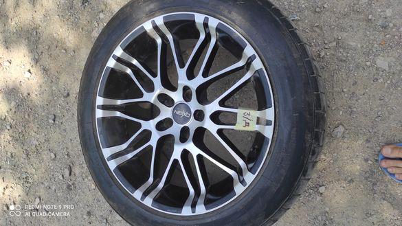 Джанти 19ки марка oxigin с гуми GripMax 255 50 19