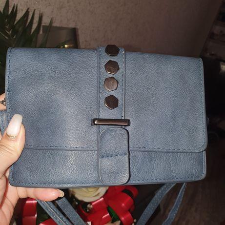 Мини сумочка через плечо