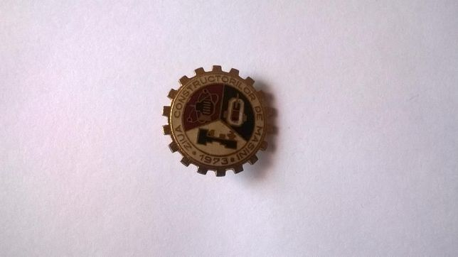 Insigna Ziua Constructorilor de Masini 1973
