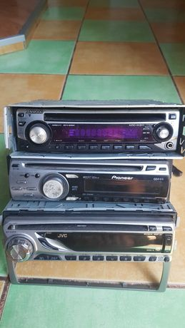 Radio cd auto kenwood , pioneer , jvc