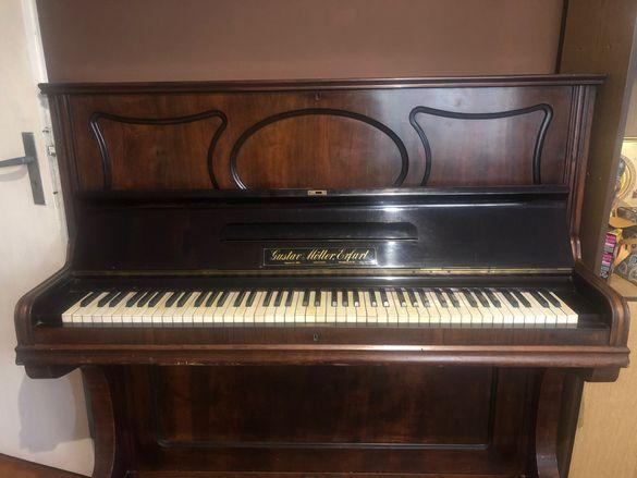 Немско пиано Gustav Möller Erfurt