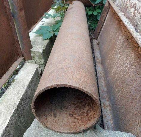 Труба железная (диаметр 220 мм)