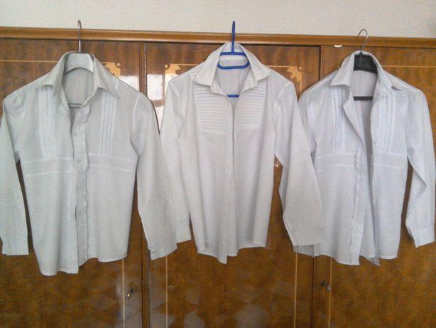 Bluză albă de școală pentru fete - 3 bucăți - mărimea 14 - 1 și 16 - 2