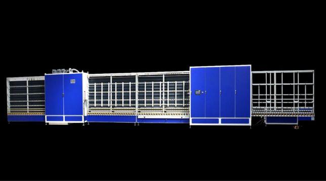 Linie de sticla 6 perii / 2000 automat cu panou presat