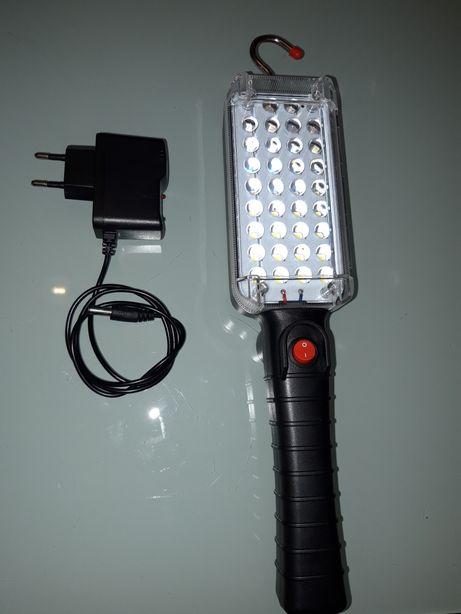 Lampa cu 34Leduri Auto+ Magnet Cu Incarcare Prin Adaptor 220V