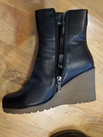 Обувь зимняя полусапожки