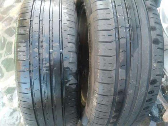 Продавам 2бр. летни гуми марка континентал 205/55/16 5,5мм дот2013г.