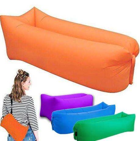Въздушен надуваем диван / легло за плаж къмпинг планина градина