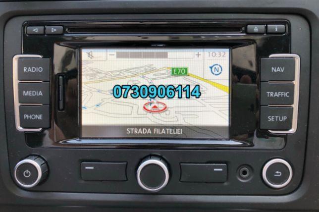SD Card harti RNS310 VW Skoda Amundsen SEAT2.0 2019 EuropaFULL+Romania