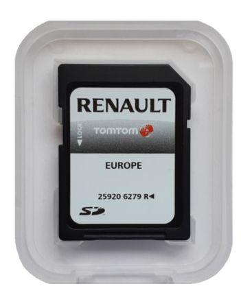SD Card Harti Navigatie Renault Carminat Tomtom Europa 2020