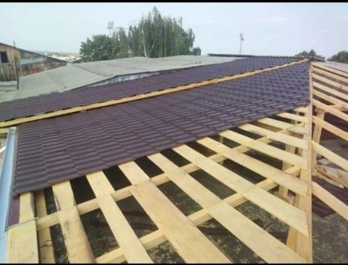 Firma de acoperisuri montaj tigla metalica dulgherii