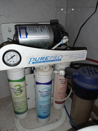Американский фильтр для воды с краном