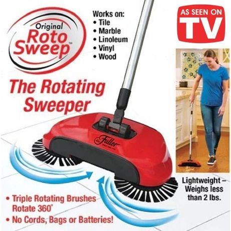 Топ цена! Ротационна иноватива подочистачка Sweep Drag All In One