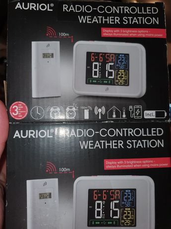 Radio-controlled weather station