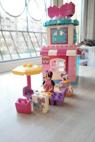 конструктор Lego Duplo для девочек домик бутик мини маус