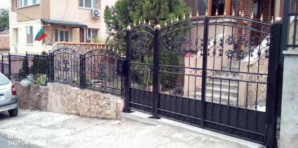 Ковано желязо ,врати ,огради , навеси, парапети и т.н.