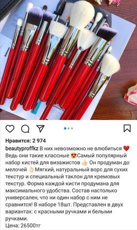 Профессиональный набор кистей Beauty Proff, № 1 для визажистов