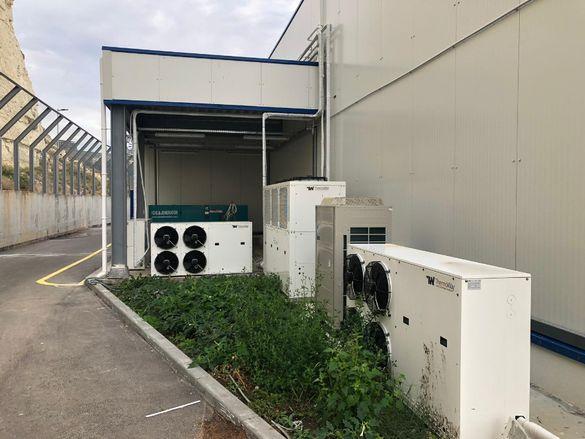 Изграждане, монтаж и подръжка на хладилни камери