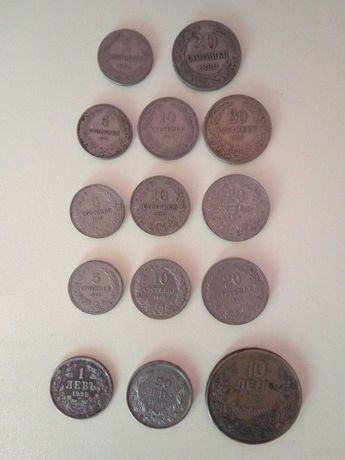 лот от монети от 1888г-1943година