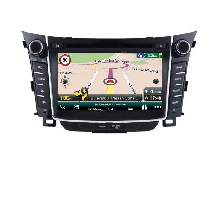 Navigatie Hyundai I30,Octa-Core ,4GB+64GB, factura+garantie+transport Navodari - imagine 1