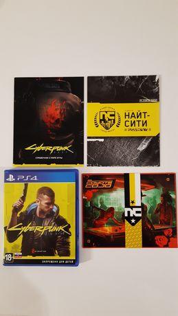 Продам игру Cyberpunk 2077 для PS4